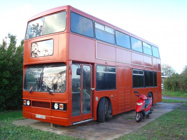 Wannasurfers Re London Double Decker Bus For Sale