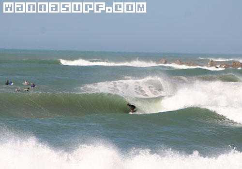 Vleesbaai Surfing In South Garden Route South Africa