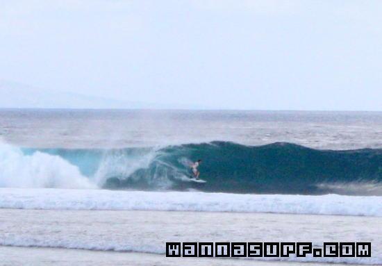 Desert Point Surfing In Lombok Indonesia Wannasurf Surf Spots
