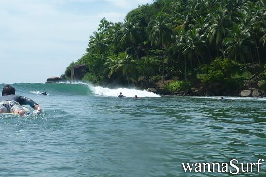 Mirissa - Surfing in Sri Lanka, Sri Lanka