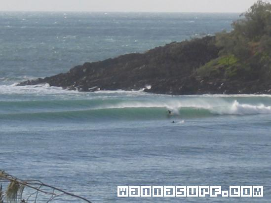 Granites Surfing In Sunshine Coast Australia
