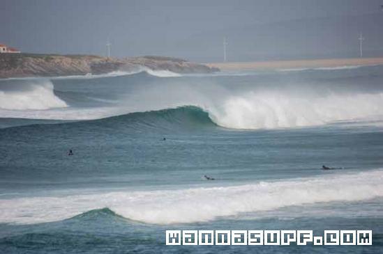 Baleal Surfing In Central Peniche Portugal WannaSurf Surf - Portugal map baleal