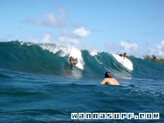 Surfing Lighthouse Big Island