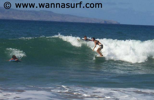 Olowalu Surfing In Maui United States Of America