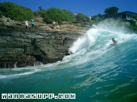 China Walls Surfing In Oahu United States Of America